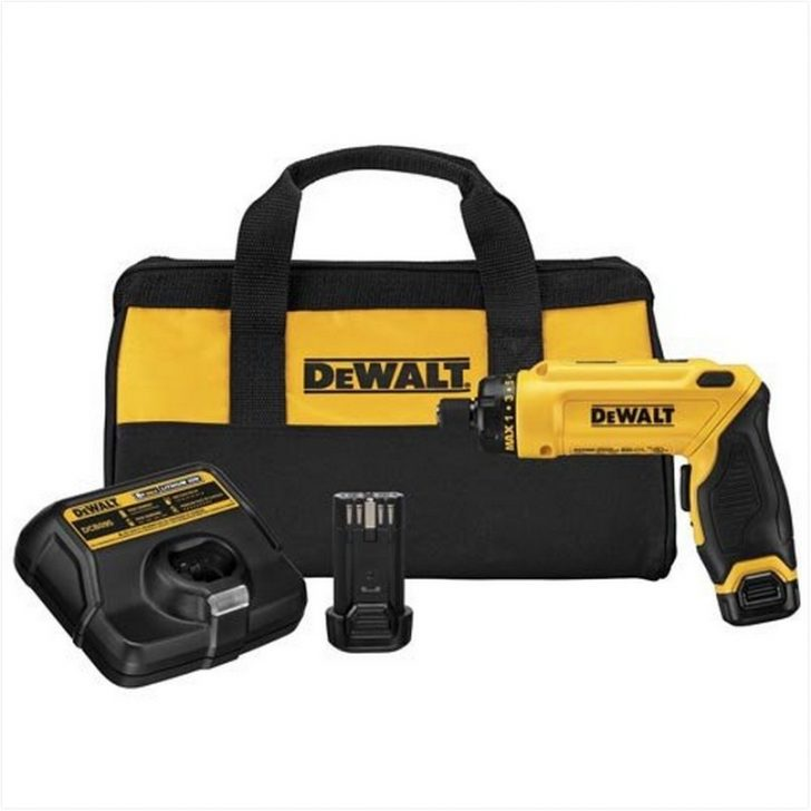 Permalink to Dewalt Power Screwdriver DCF680N2 8V